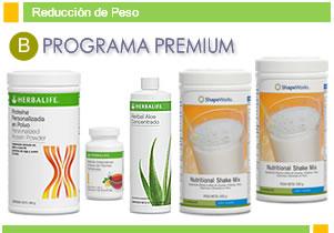 Programa basico para bajar de peso herbalife
